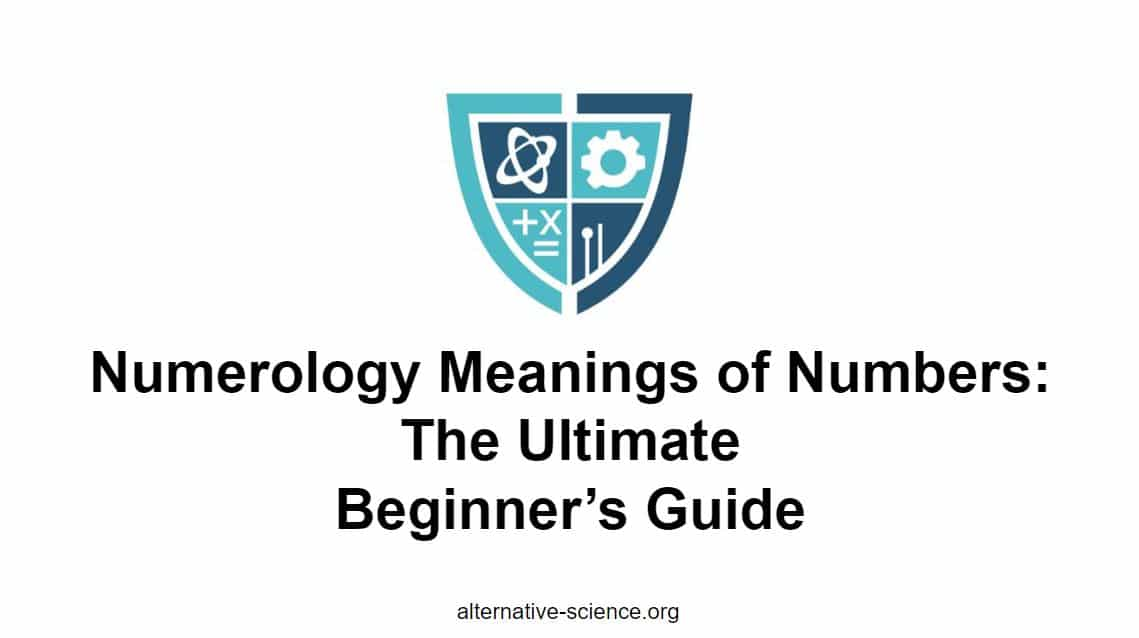 numerology meanings of numbers