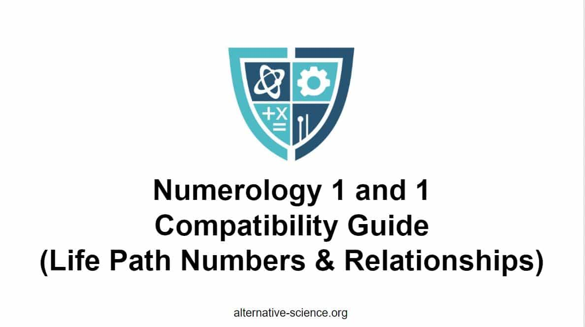 numerology 1 and 1 compatibility