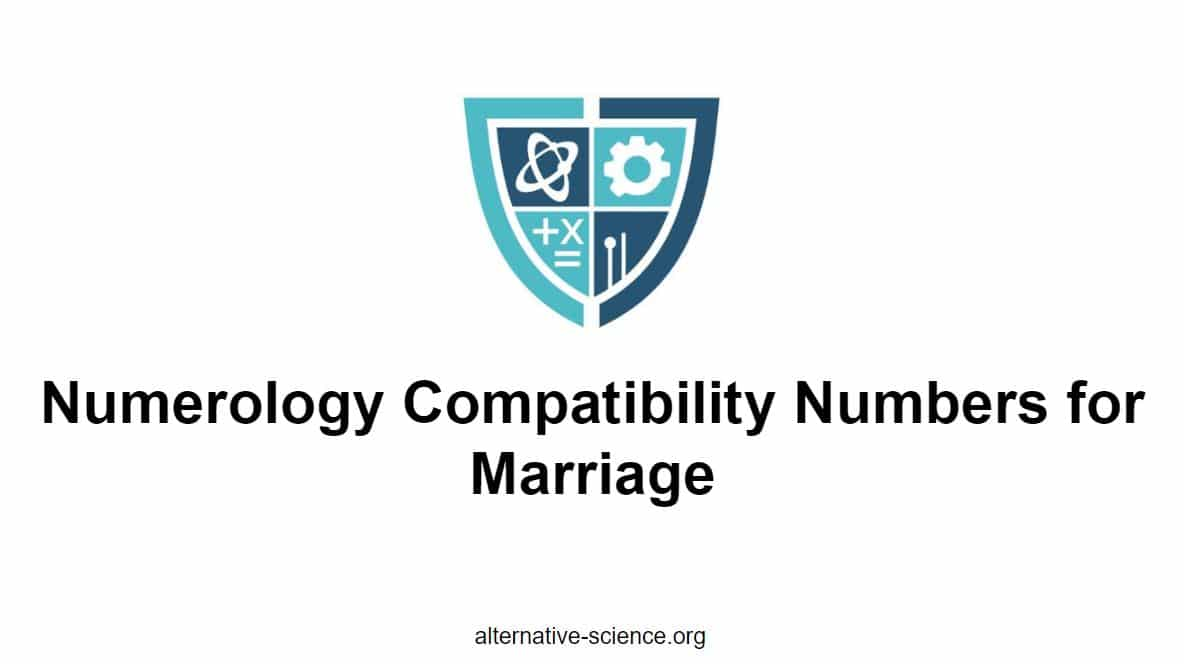 Numerology Compatability Numbers for Marriage - Will it End in Divorce?
