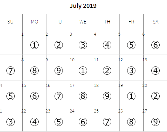 numerology personal day reading calendar