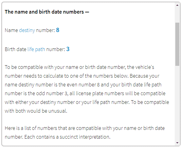 name numerology calculator based on date of birth 25 march